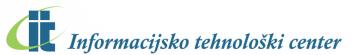 Informacijsko tehnološki center logo manjši